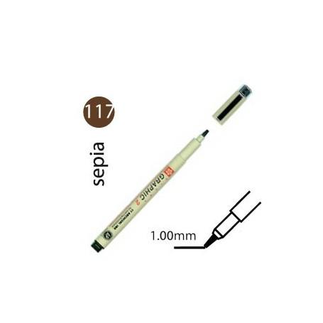 Rotulador Pigma Graphic Sepia 1,0 mm