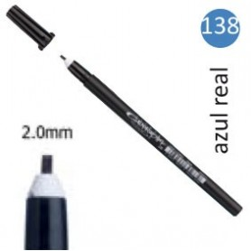 Rotulador Pigma Calligrapher Azul real 2mm