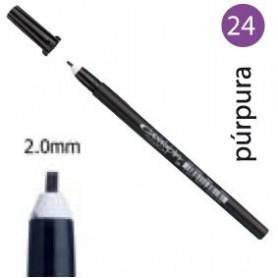 Rotulador Pigma Calligrapher Púrpura 2mm