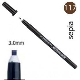 Rotulador Pigma Calligrapher Sepia 3mm