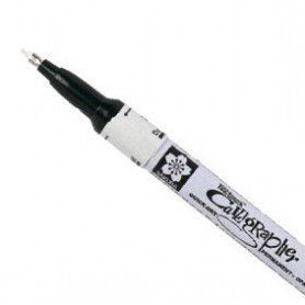 Rotulador Pen Touch Calligrapher Blanco F