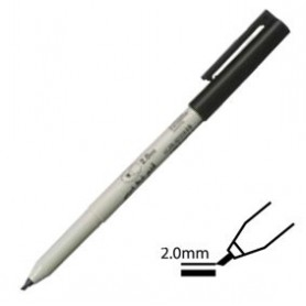 Rotulador Pen Touch Calligrapher Negro 2mm