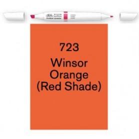 Winsor & Newton Pigment marker Amarillo naranja Winsor(Mat rojo)
