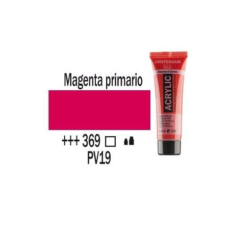 Acrílico Amsterdam 369 20 ml Magenta primario