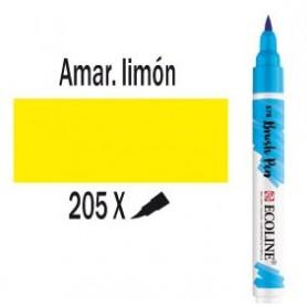 Ecoline Brushpen Amarillo limón