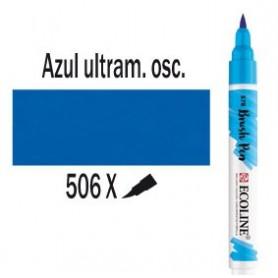 Ecoline Brushpen Azul ultramar oscuro