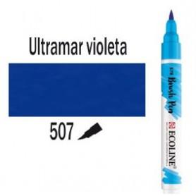 Ecoline Brushpen Ultramar Violeta