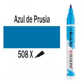 Ecoline Brushpen Azul prusia