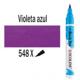 Ecoline Brushpen Violeta azul