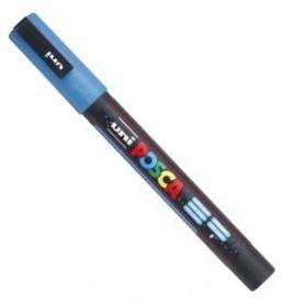 Rotulador Posca PC-3ML Azul claro purpurina