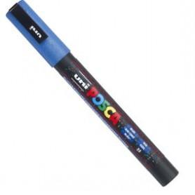 Rotulador Posca PC-3ML Azul purpurina