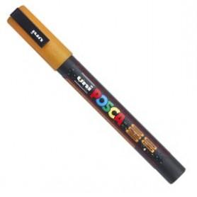 Rotulador Posca PC-3ML Naranja purpurina