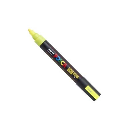Rotulador Posca PC5-M Fluor Amarillo