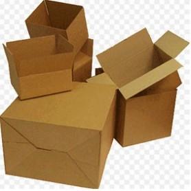 Caja embalaje 400x290x220 mm cartón canal 3mm