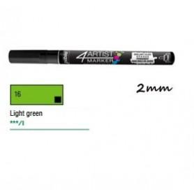 Marcador Pebeo 4ARTIST 2 mm Verde