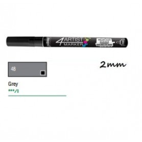 Marcador Pebeo 4ARTIST 2 mm Gris