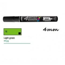 Marcador Pebeo 4ARTIST 4 mm Verde claro