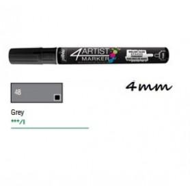 Marcador Pebeo 4ARTIST 4 mm Gris