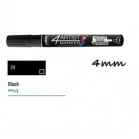 Marcador Pebeo 4ARTIST 4 mm Negro