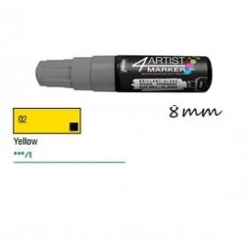 Marcador Pebeo 4ARTIST 8 mm Amarillo