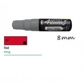 Marcador Pebeo 4ARTIST 8 mm Rojo