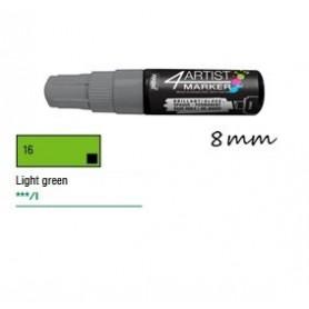 Marcador Pebeo 4ARTIST 8 mm Verde