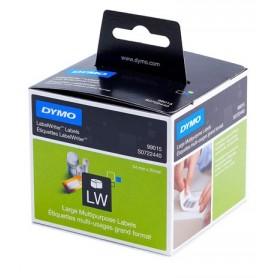 Etiquetas Dymo grandes multifuncional/diskette de 54x70 mm