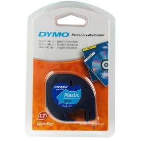 Cinta Dymo Letratag Azul