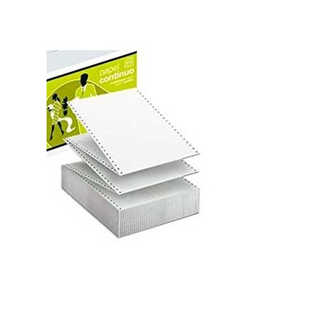 """Papel Continuo 240 mm x 11"""" Liso 2 hojas"""