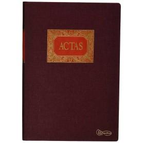 Libro Actas Miquelrius 100 Hojas Fijas