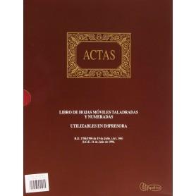 Libro Actas Miquelrius 100 Hojas Móviles