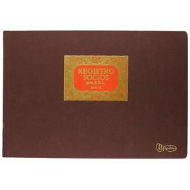 Libro Registro de Socios para S.R.L. Miquelrius - Modelo 76