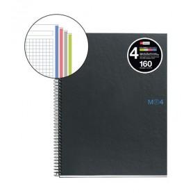 Cuaderno Notebook Miquelrius Din A5 Cuadriculado