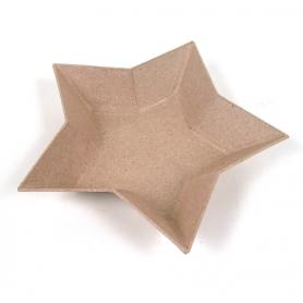 Pequeño plato estrella Décopatch