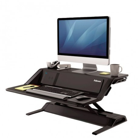 Estación de trabajo Sit-Stand Lotus™ DX - Negro - Fellowes