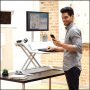 Estación de trabajo Sit-Stand Lotus™ DX - Blanco - Fellowes