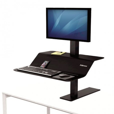 Estación de trabajo Sit-Stand Lotus™ VE monitor individual - Fellowes
