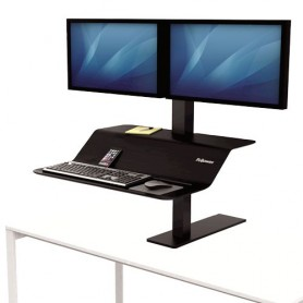 Estación de trabajo Sit-Stand Lotus™ VE monitor doble - Fellowes