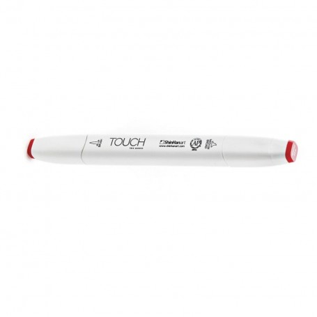 Rotulador Touch Twin Brush Vivid Red R4