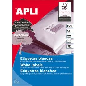 Etiquetas Apli 10557 Medidas 48,5 x 16,9 mm