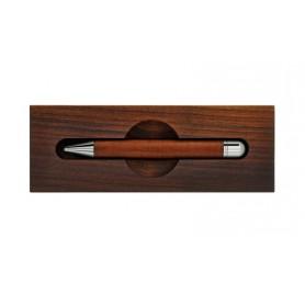 Bolígrafo Madera de Cerezo con Base