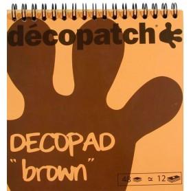 Block color Decopad Marrón