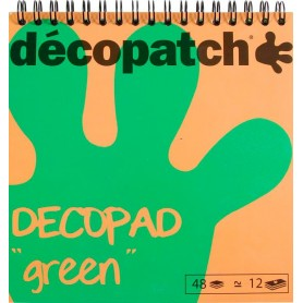 Block color Decopad Verde