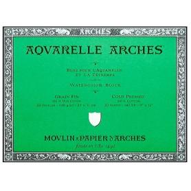 Bloc acuarela Arches Grano Fino 23 x 31 cm 300 gr/m2