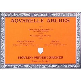 Bloc acuarela Arches Grano Grueso 18 x 26 cm 300 gr/m2