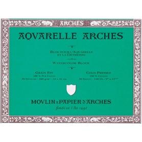 Bloc acuarela Arches Grano Fino 18 x 26 cm 300 gr/m2