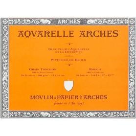 Bloc acuarela Arches Grano Grueso 23 x 31 cm 300 gr/m2