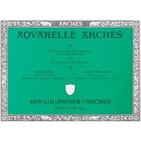Bloc acuarela Arches Grano Fino 26 x 36 cm 300 gr/m2