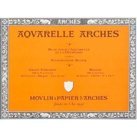 Bloc acuarela Arches Grano Grueso 26 x 36 cm 300 gr/m2
