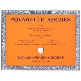Bloc acuarela Arches Grano Grueso 31 x 41 cm 300 gr/m2
